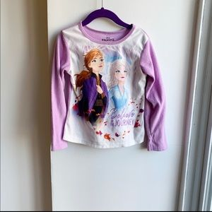Frozen II Ana Elsa Believe in the Journey tee